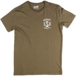 textil Herre T-shirts m. korte ærmer Key Up 2G77S 0001 Grøn