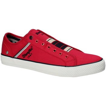 Sko Herre Lave sneakers Wrangler WM181033 Rød