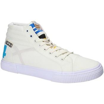 Sko Herre Høje sneakers Gas GAM810152 hvid