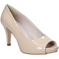 Sko Dame Højhælede sko Grace Shoes 738I001 Beige