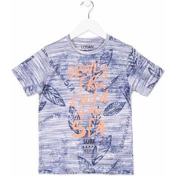 textil Børn T-shirts m. korte ærmer Losan 813-1023AA Blå