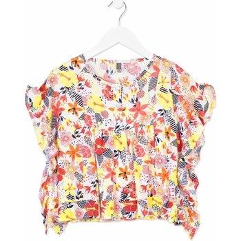 textil Pige Skjorter / Skjortebluser Losan 814-3003AB Orange