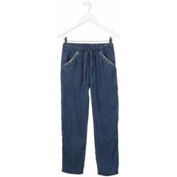 textil Pige Lige jeans Losan 814-9005AB Blå