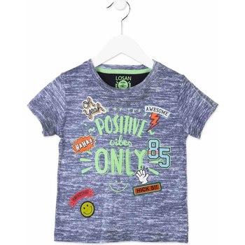 textil Børn T-shirts m. korte ærmer Losan 815-1017AC Blå