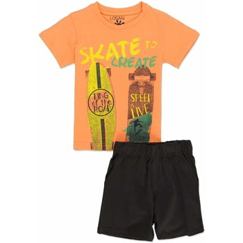 textil Dreng Sæt Losan 815-8046AC Orange