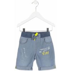 textil Dreng Shorts Losan 815-9002AC Blå