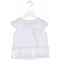 textil Pige Skjorter / Skjortebluser Losan 816-1016AD hvid