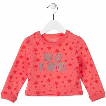 textil Børn Sweatshirts Losan 816-6023AD Lyserød