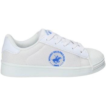 Sko Børn Lave sneakers Beverly Hills Polo Club BH-2028 hvid