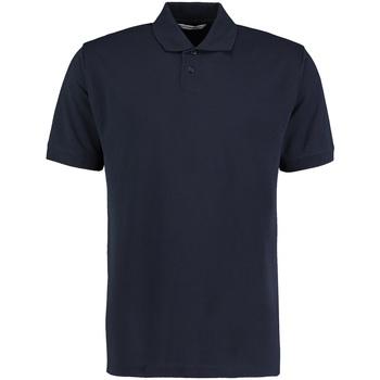 textil Herre Polo-t-shirts m. korte ærmer Kustom Kit KK422 Navy
