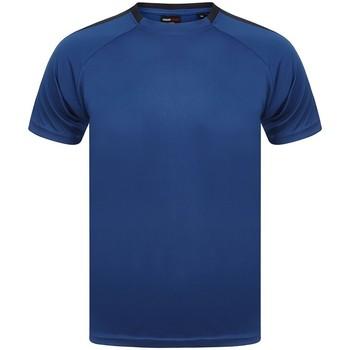 textil T-shirts m. korte ærmer Finden & Hales LV290 Royal Blue/Navy