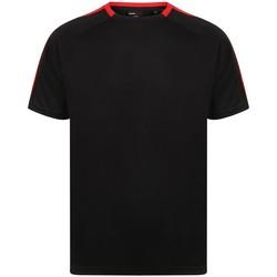 textil T-shirts m. korte ærmer Finden & Hales LV290 Black/Red