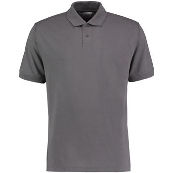 textil Herre Polo-t-shirts m. korte ærmer Kustom Kit KK422 Charcoal Grey