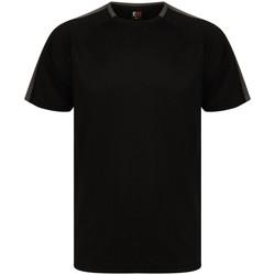 textil T-shirts m. korte ærmer Finden & Hales LV290 Black/Gunmetal