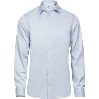 textil Herre Skjorter m. lange ærmer Tee Jays T4021 Light Blue