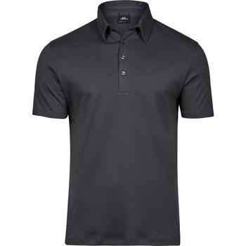 textil Herre Polo-t-shirts m. korte ærmer Tee Jays T1440 Dark Grey