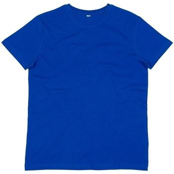 textil Herre T-shirts m. korte ærmer Mantis M01 Royal Blue