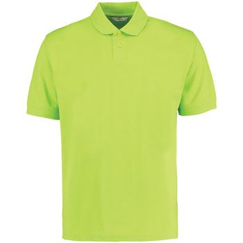 textil Herre Polo-t-shirts m. korte ærmer Kustom Kit KK422 Lime Green
