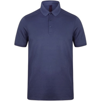 textil Herre Polo-t-shirts m. korte ærmer Henbury HB460 Navy
