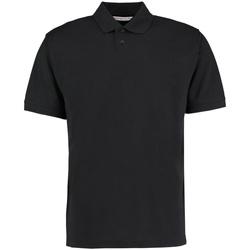 textil Herre Polo-t-shirts m. korte ærmer Kustom Kit KK422 Black