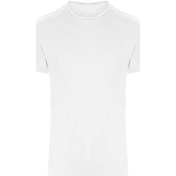 textil T-shirts m. korte ærmer Awdis JC110 Arctic White