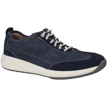 Sko Herre Lave sneakers Clarks 133328 Blå