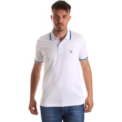 textil Herre Polo-t-shirts m. korte ærmer Gaudi 911BU64033 hvid