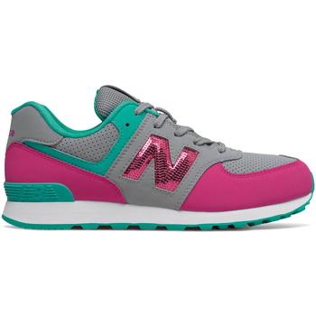 Sko Pige Lave sneakers New Balance NBGC574KWT Grå