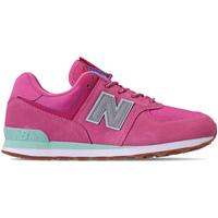 Sko Pige Lave sneakers New Balance NBGC574PAF Lyserød