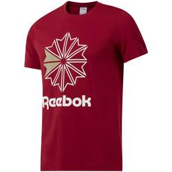 textil Herre T-shirts m. korte ærmer Reebok Sport DH2096 Rød