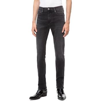 textil Herre Smalle jeans Calvin Klein Jeans J30J308317 Sort