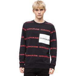 textil Herre Pullovere Calvin Klein Jeans J30J309796 Sort