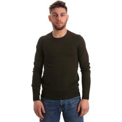 textil Herre Pullovere Gaudi 821BU53003 Grøn