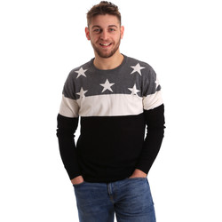 textil Herre Pullovere Gaudi 821BU53029 Grå