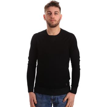 textil Herre Pullovere Gaudi 821BU53036 Sort