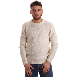 textil Herre Pullovere Gaudi 821BU53042 hvid