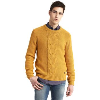 textil Herre Pullovere Gaudi 821BU53042 Gul