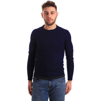 textil Herre Pullovere Gaudi 821BU53043 Blå
