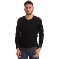 textil Herre Pullovere Gaudi 821FU53008 Sort