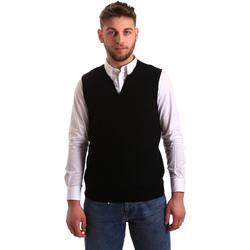 textil Herre Veste / Cardigans Gaudi 821FU53025 Sort