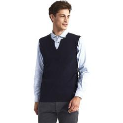 textil Herre Veste / Cardigans Gaudi 821FU53025 Blå