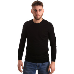 textil Herre Pullovere Gaudi 821FU53080 Sort