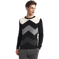 textil Herre Pullovere Gaudi 821FU53085 Sort
