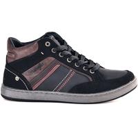 Sko Herre Høje sneakers Wrangler WM182101 Blå