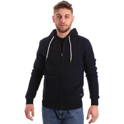 textil Herre Sweatshirts Key Up 2F01I 0001 Blå