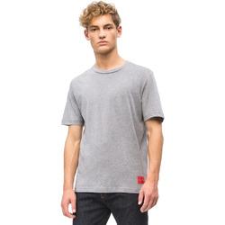 textil Herre T-shirts m. korte ærmer Calvin Klein Jeans J30J309616 Grå