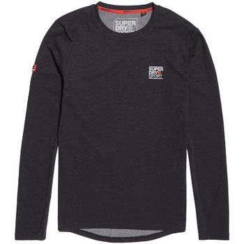 textil Herre Langærmede T-shirts Superdry MS3002RR Sort