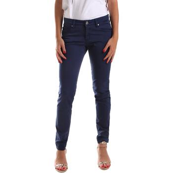 textil Dame Lærredsbukser Gaudi 911BD25010 Blå