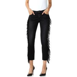textil Dame Jeans - 3/4 & 7/8 Liu Jo F68203D4259 Sort