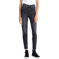 textil Dame Jeans - boyfriend Calvin Klein Jeans J20J207652 Blå